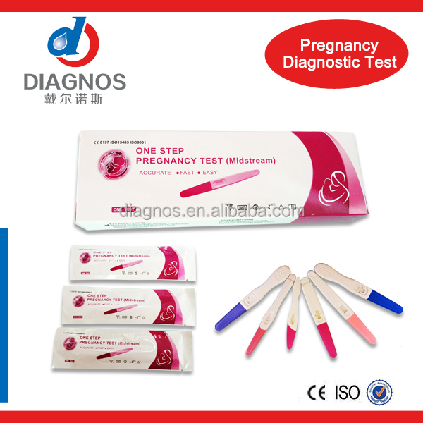 Diagnos High Quality hcg pregnancy lh ovulation rapid test kit (CE)
