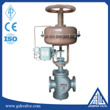 carbon steel pneumatic double seated regulating valve