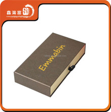 Luxury sunglasses packaging paper drawer box