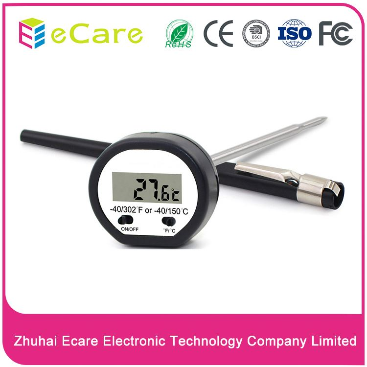 Electronic cheap mini food thermometer digital for meat/grill