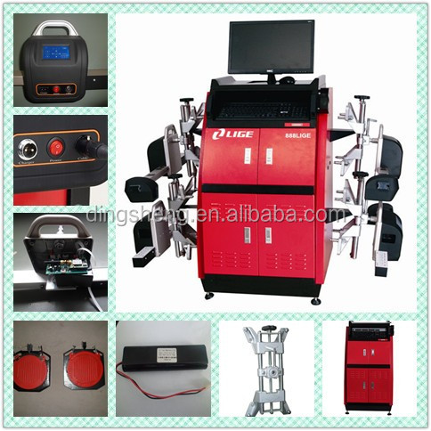 Wheel alignment machine price CCD Wheel Aligner Passed The CE and ISO9001