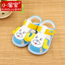 leather lovely baby shoes kids summer sandals for 2016 new design