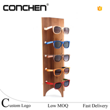 bulk buy from china optician display bamboo sunglasses cloths displays racks multiple eyeglass holder