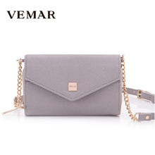 retail online shopping Gray Color Mobile Phone Clutch Bag With Long Strap