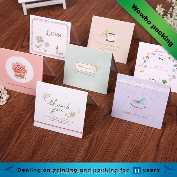 Greeting cards in card printing/thank you cards custom printed