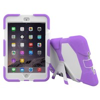 Strong Shockproof Full Body Case 3 in 1 Kickstand Cover for Ipad Mini 4