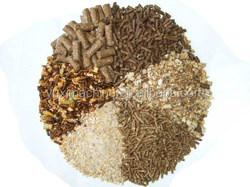 3-5ton/h poultry feed soybean animal feed pellet machine/livestock fodder processing line