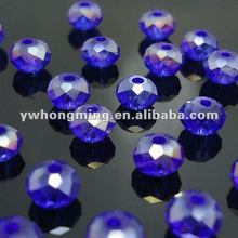 2012 fashion DIY crystal beads sell at discount! Nice clear loose rondelle crystal beads!