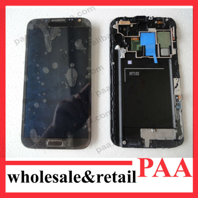 Original For Samsung Galaxy Note 2 LTE N7105 LCD Display Assembly Complete