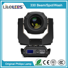 LiteLEES Cool white Professional stage light 330w Robe Pointe 280w Sharpy 10R 280 Beam Spot Wash 3 in 1 Moving Head Light