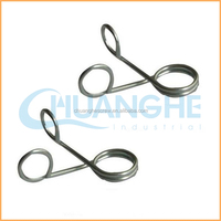 Factory price sales metal double torsion spring small coil spring