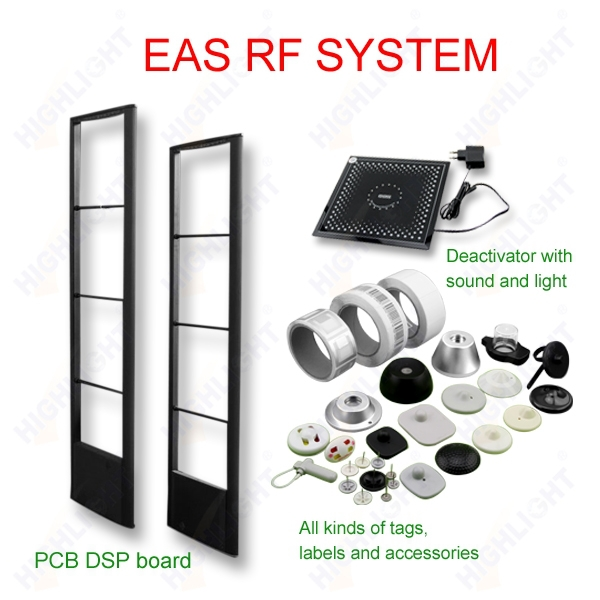 HIGHLIGHT R009 8.2MHz RF EAS system retail security anti theft system/ RF EAS antenna/ clothing store eas alarm system