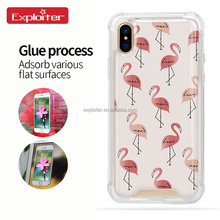 Shenzhen gel soft tpu back heat proof phone case cover for iphone 8