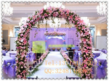 beautiful artificial funeral wreath, wedding flower stand centerpieces