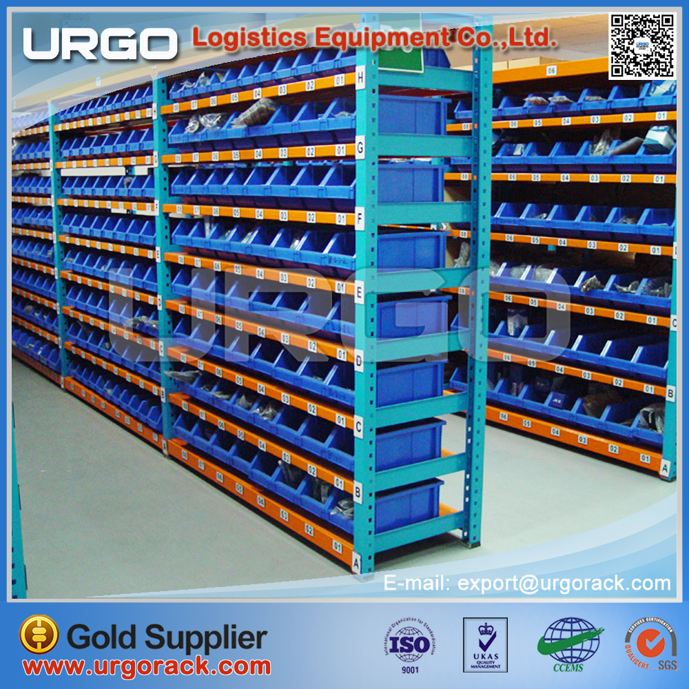 Warehouse storage longspan shelving