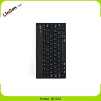 Ultra Thin Aluminium Bluetooth Keyboard for iPad for Samsung Tab