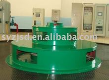 vertical hydro turbine generator of propeller/kaplan type with dual control governor double regulating