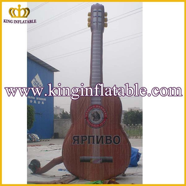Factory Discount CE Inflatable Guitar, Giant Inflatable Model Shape