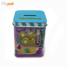 custom metal coin bank for kids