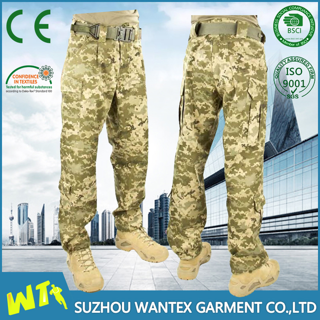 men's cargo trousers military army cargo pants with pockets