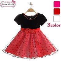 latest design baby frock gauze three rose style frock girls cotton frock designs