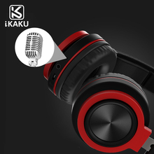 2018 KAKU Factory Price Good Quality Metal Earphone With Microphone for Laptop Iphone Smart Phone