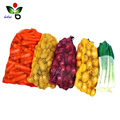 High toughness 100% PE raschel onion garlic vegetable fruit mesh bag wholesale