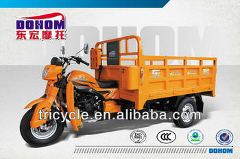 Tohon 250cc water cooled three wheel cargo tricycle/triciclo