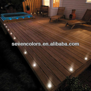 Low Voltage Walk Over LED Outdoor Floor Light Patio/ Paver/ Deck LED Light (SC-B104B)