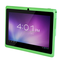 Nice 7 inch Ultra Slim Allwinner A33 Quad-core Google Android Tablet PC, Capacitive, Google Android 4.4