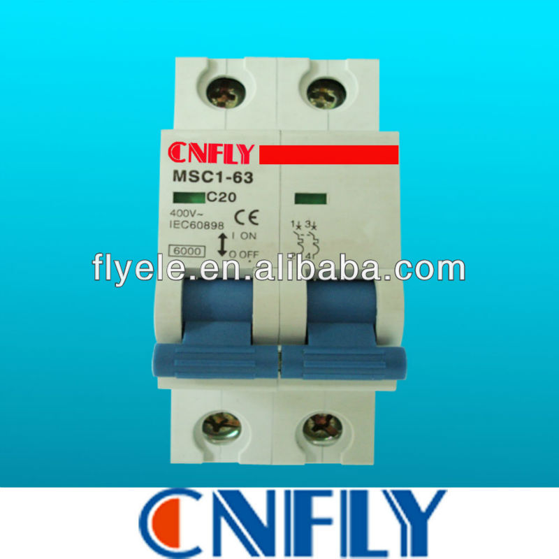 2Pole C20 Mini Circuit Breaker