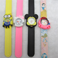 China supplier sales hot sell silicone slap watch