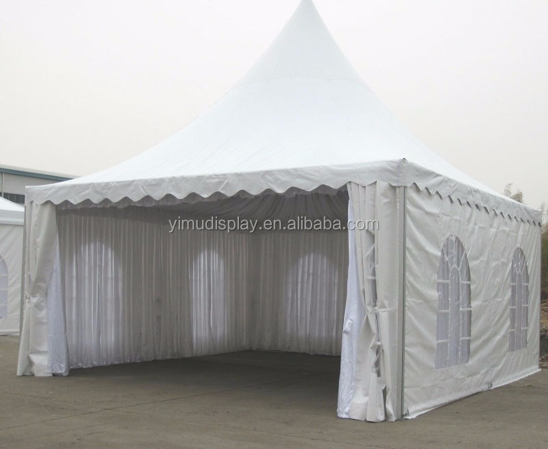8x8m Metal Square Tube Structure Roof Pagoda Tent