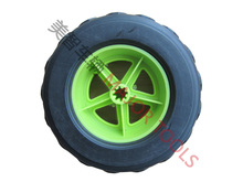6 inch 6X2 replacement plastic toy rubber tires wheel for best sales
