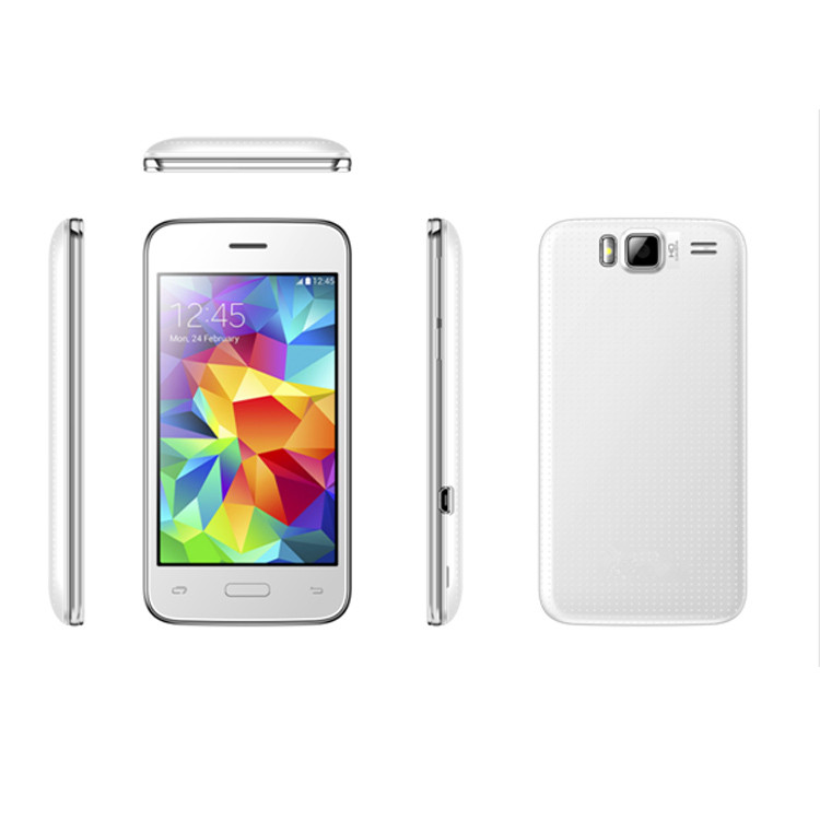 "OEM Cheap Big Screen Android Phones 4.0"" IPS Screen Mobile Phones With Bluetooth WIFI FM"