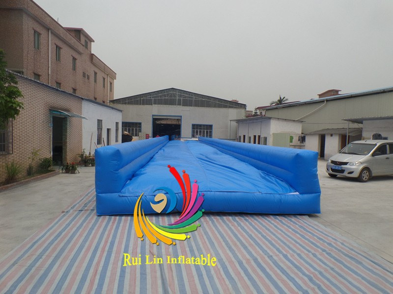 Promotion high quality very long inflatable race tarck