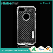 Trending Product Transparent Crystal TPU Phone Case Cell Phone Accessories for iphone7