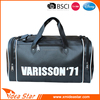 Customized logo pu duffel bag durable portable travel bag for suits