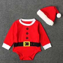 newborn baby clothes Christmas wear set 100% cotton baby clothes