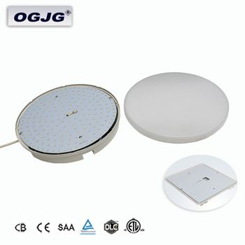 CE ETL DLC Rohs Top Quality Kindergarten Emergency Ceiling Lights Modern Thoroughfare Lamp Bathroom waterproof Panel Fixtures
