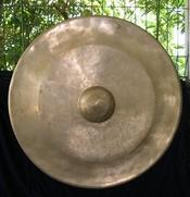 Polished Bronze Gamelan Gong