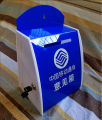 China wholesale acrylic charity donation box QCY-DO65