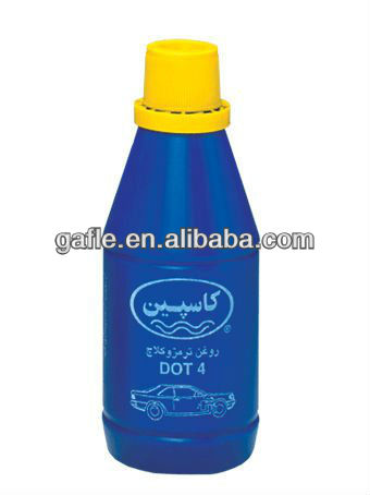 high dry boiling point heavy-duty brake fluid dot 3 in plastic bottle