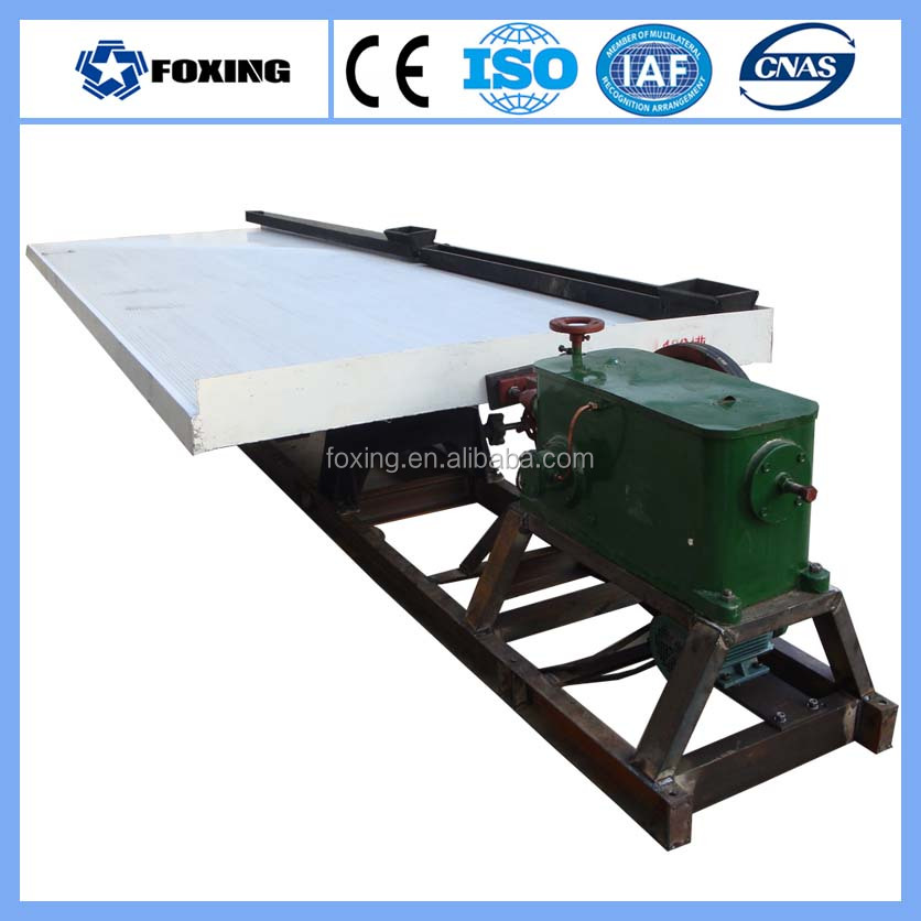 Easy Operation Low Cost Silver Extraction Machine, 6S Shaking Table for Sale