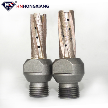 zhecheng hongxiang cnc diamond milling finger bits glass cutting router bits