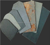 different colors roofing slate tile construction material