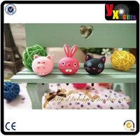 Fashion pvc dust plug for phone cute ear cap cartoon dust plug for phone