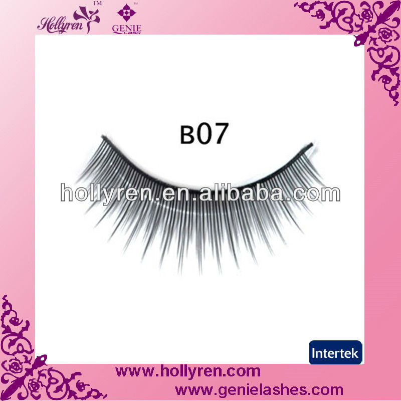 100% handmade polished tip remy eyelashes