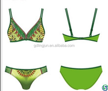 High-end fashion brand together 2015 new small breasts sexy female bikini