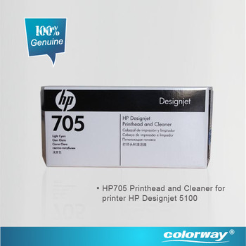 HP705 Printhead & cleaner for Printer HP Designjet 5100